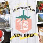 いちご園オープン!茨木市でいちご狩りができるよ!「ザ ファームユニバーサルオオサカ」